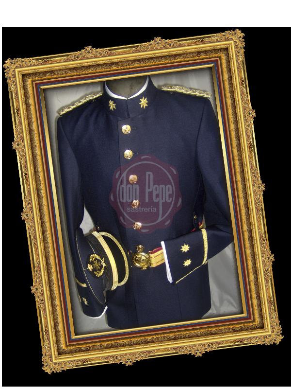 Uniforme Teniente Coronel Cuerpos Comunes